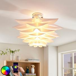 Bunt leuchtende LED-Deckenleuchte Lavinja