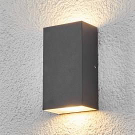 Eckige LED-Außenwandleuchte Weerd