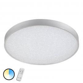 Mit Kristalleffekt - LED-Deckenleuchte Glam m. FB