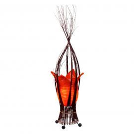 Tulpenförmige Tischleuchte Elena in Orange
