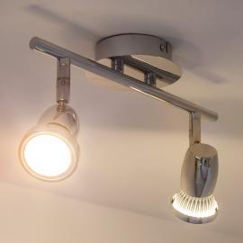 LED-Deckenstrahler Arminius, 2-flammig