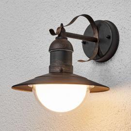 Antik wirkende LED-Außenwandleuchte Clea