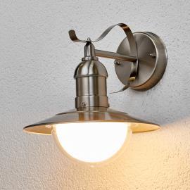 Clea - LED-Außenwandleuchte aus Edelstahl