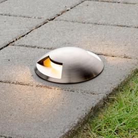 Bodeneinbaustrahler Helene für außen mit LEDs