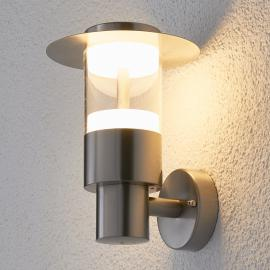 Außenwandleuchte Anouk aus Edelstahl mit LED