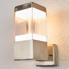 Außenwandleuchte Baily aus Edelstahl, mit LEDs