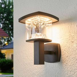 LED-Außenwandleuchte Askan aus Edelstahl
