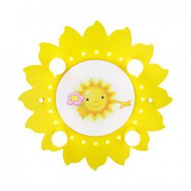 Deckenleuchte Motiv Sonne mit Blume 4/20