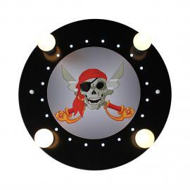 Deckenleuchte Piratenkopf 4/20
