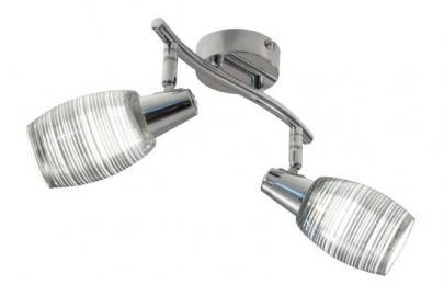 LED Spot 2-flg NORI von Nino Chrom