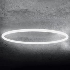 Alphabet of light Pendelleuchte / Bluetooth - Ø 155 cm - Artemide - Weiß