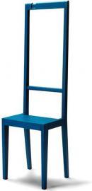 Krzesło i garderoba Alfred niebieskie