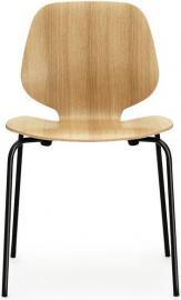 Krzesło My Chair dąb czarne nogi