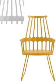 Krzesło Comback sanki szaroniebieskie