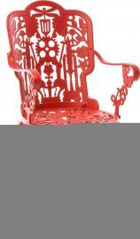 Fotel ogrodowy Industry czerwony