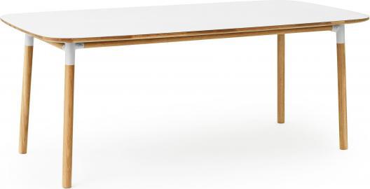 Stół Form 95x200 cm biały