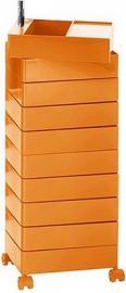 Szafka 360 10 szuflad pomarańczowa