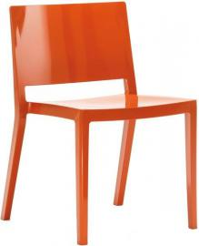 Krzesło Lizz pomarańczowe