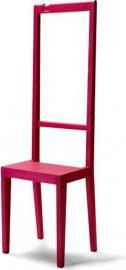Krzesło i garderoba Alfred fuksja