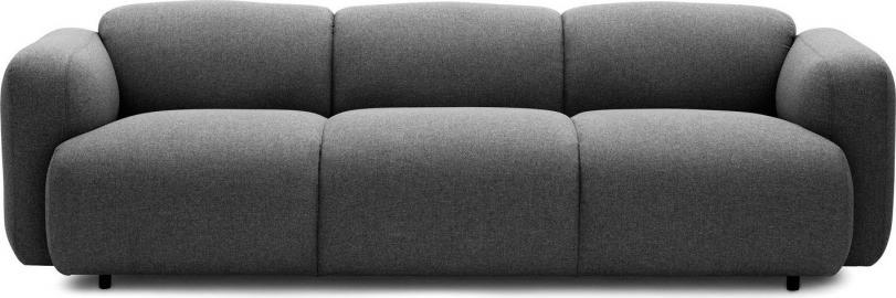 Sofa Swell szara