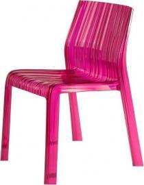 Krzesło Frilly fuksja