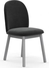 Krzesło Ace welur szare