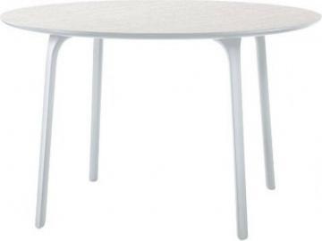 Stół First okrągły 120 cm biały