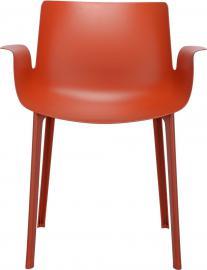 Krzesło Piuma rdzawopomarańczowe