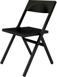 Krzesło Piana czarne
