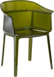 Krzesło Papyrus zielone
