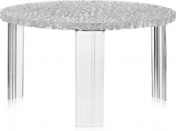Stolik T-Table 28 cm kryształowy