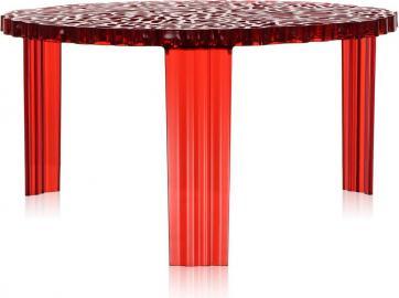 Stolik T-Table 28 cm czerwony