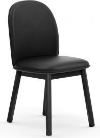 Krzesło Ace skóra czarne