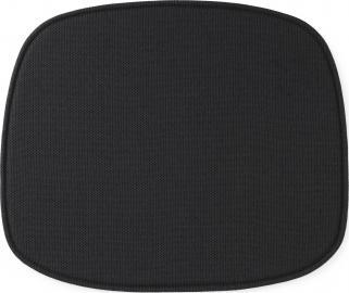 Poduszka na krzesło Form czarna