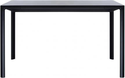 Stół rozkładany Zoom czarny 85 x 130 cm