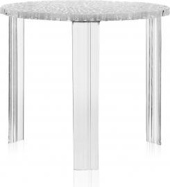 Stolik T-Table 44 cm kryształowy