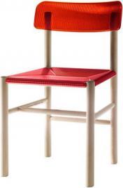 Krzesło Trattoria czerwone