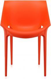 Krzesło Dr. Yes czerwonopomarańczowe
