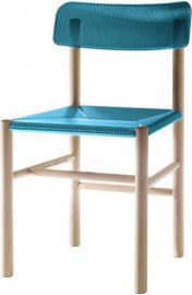 Krzesło Trattoria niebieskie