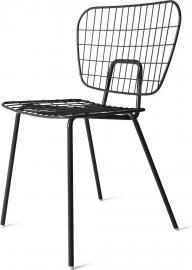 Krzesło WM String Dining Chair czarne