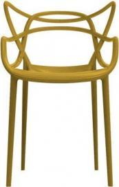 Krzesło Masters musztardowe