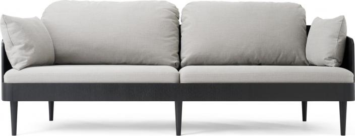 Sofa trzyosobowa Septembre Light Grey Nevotex Milly