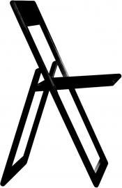 Krzesło składane Aviva czarne