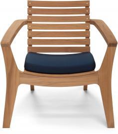 Poduszka na krzesło Regatta granatowa