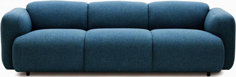 Sofa Swell niebieska