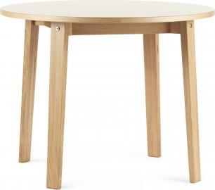 Stół Slice 95 cm kremowy