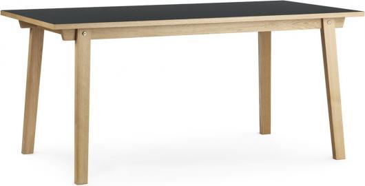 Stół prostokątny Slice 84x160 cm szary
