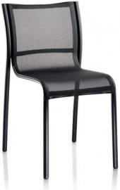 Krzesło Paso Doble czarne rama lakierowana