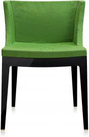 Krzesło Mademoiselle czarny korpus adamaszek