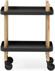 Stolik Block czarny
